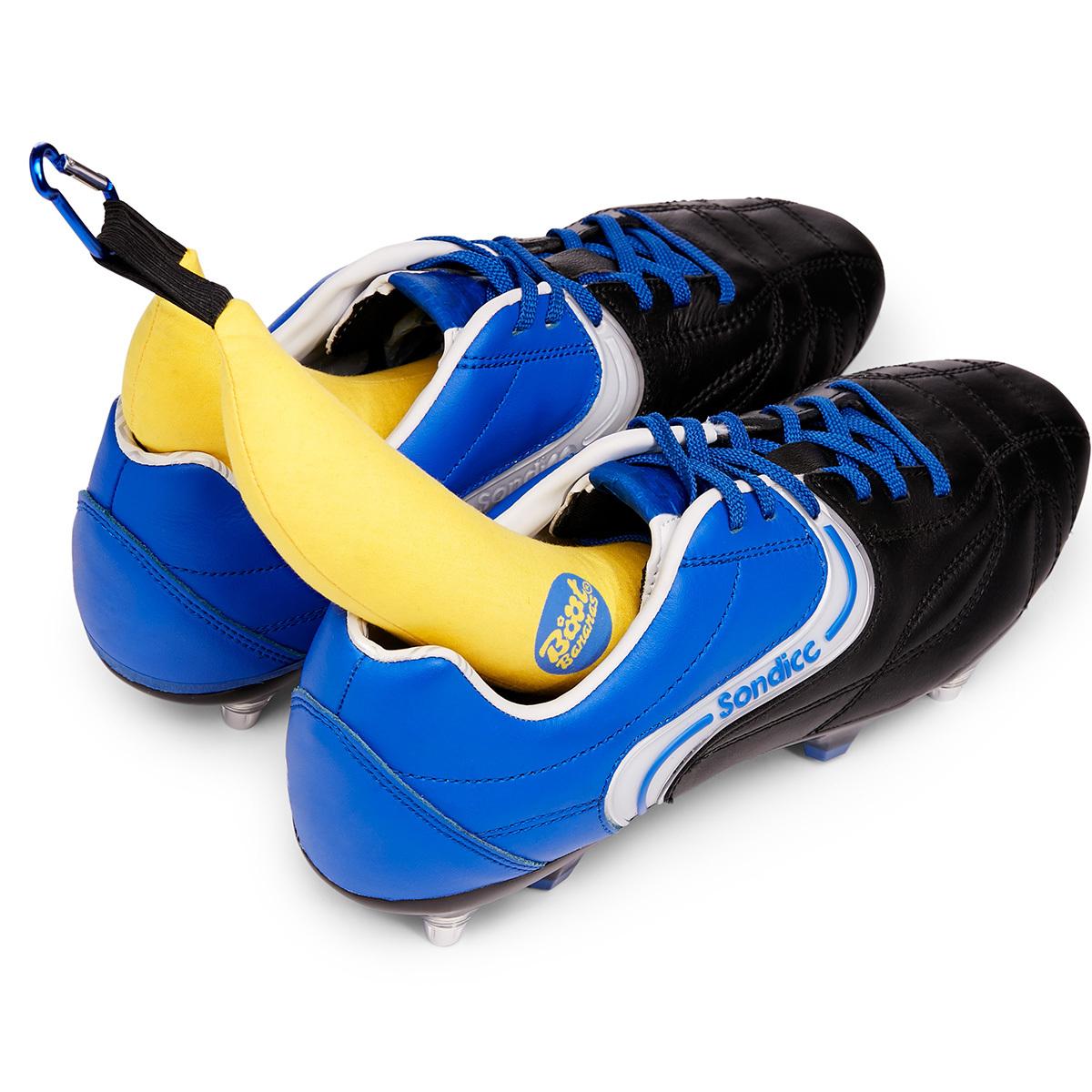 Boot Bananas. Der Tipp gegen Käsefüße in Sportschuhen. Ein