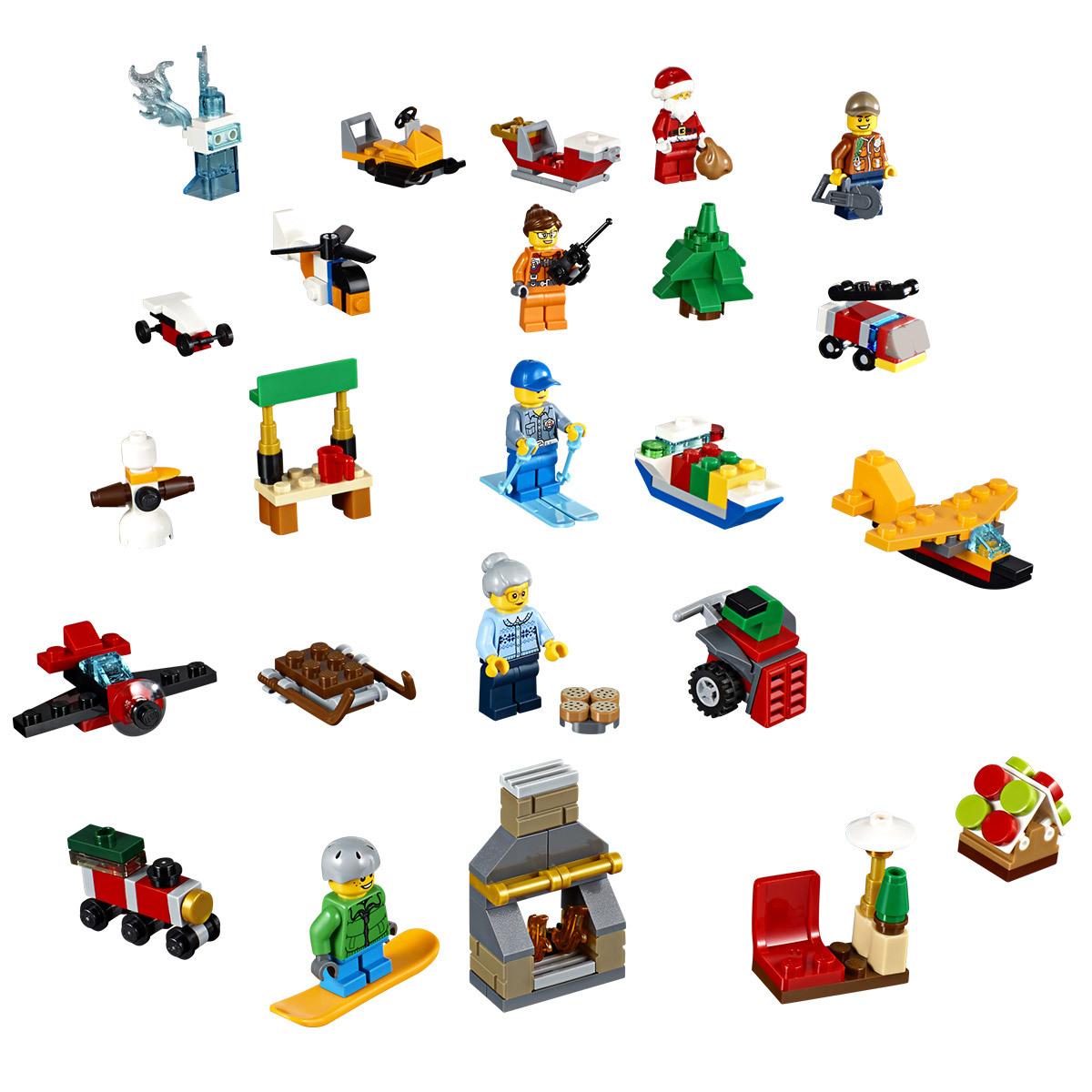 Calendrier Lego City.Qids Lego Calendrier De L Avent