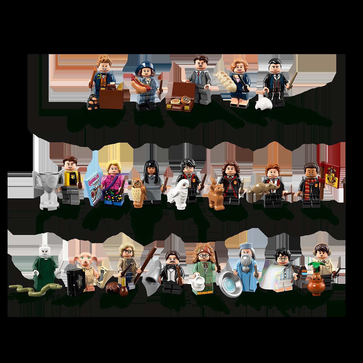 Lego 71022 Harry Potter personnages TU Beasts tous les 22 Minifiguren au choix