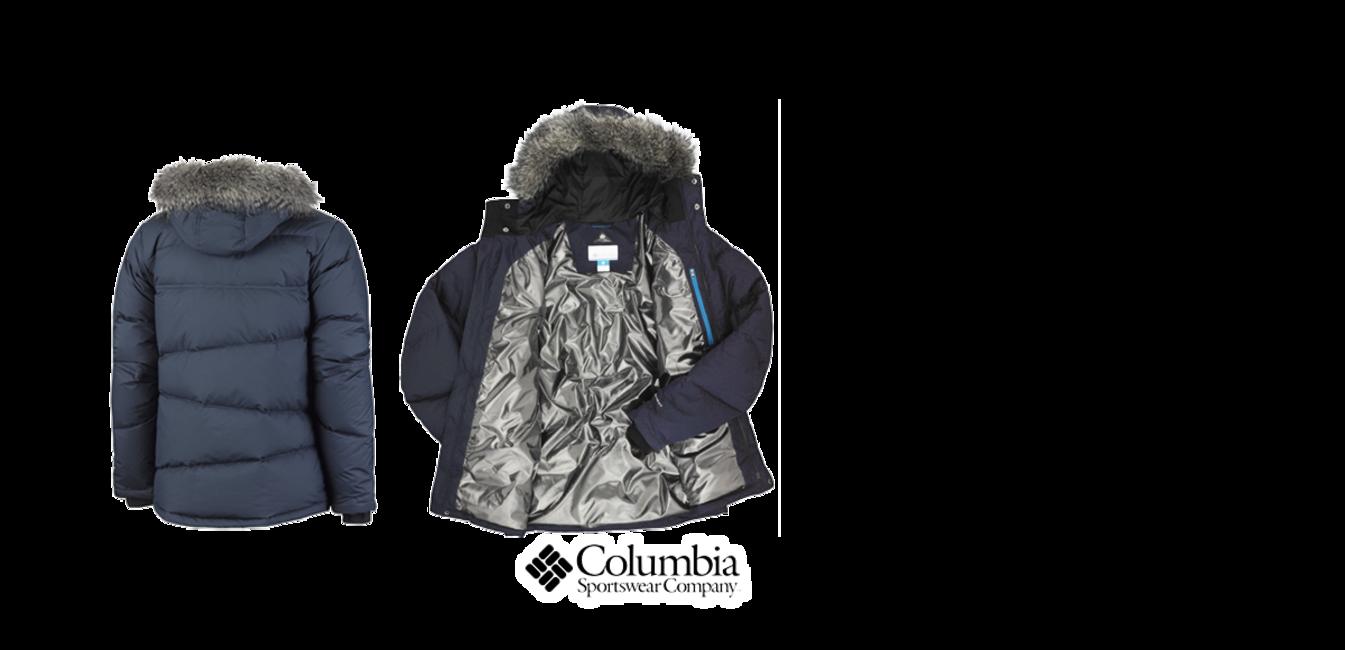 Columbia Herren Daunenjacke Portage Glacier III