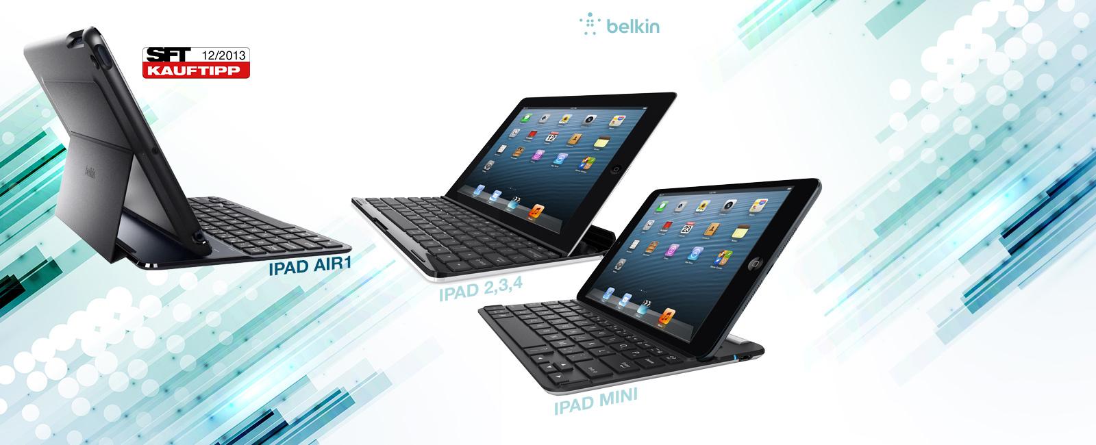 Comment puis-je brancher mon clavier Belkin à mon iPad