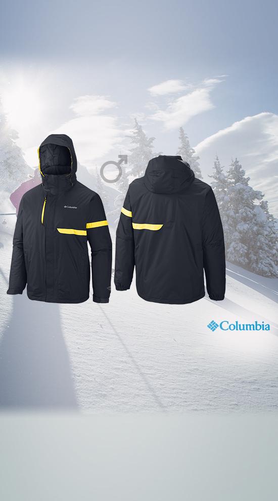 Veste Ski Columbia Exact Fusion De Qsport OiuZkXP