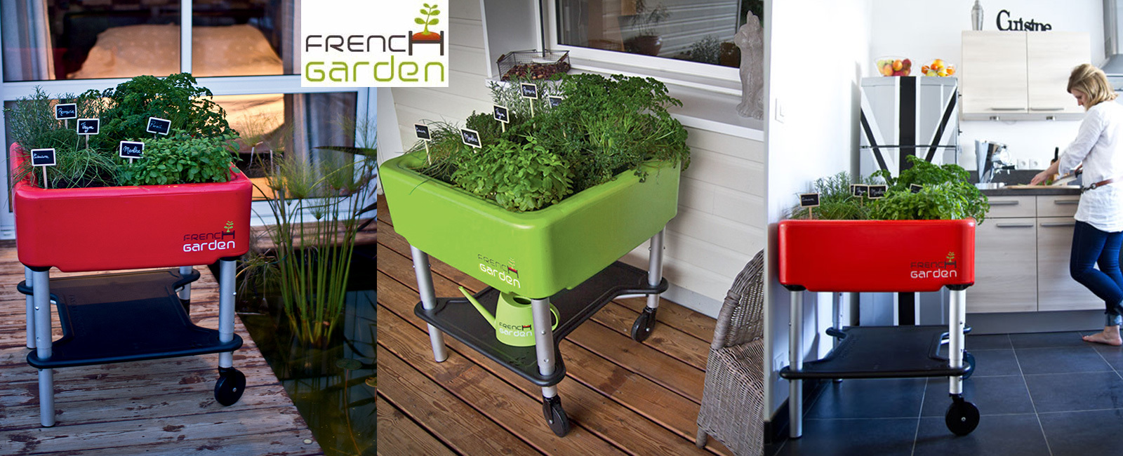 qoqa - french garden mobiler hochgarten premium edition, Garten und bauen