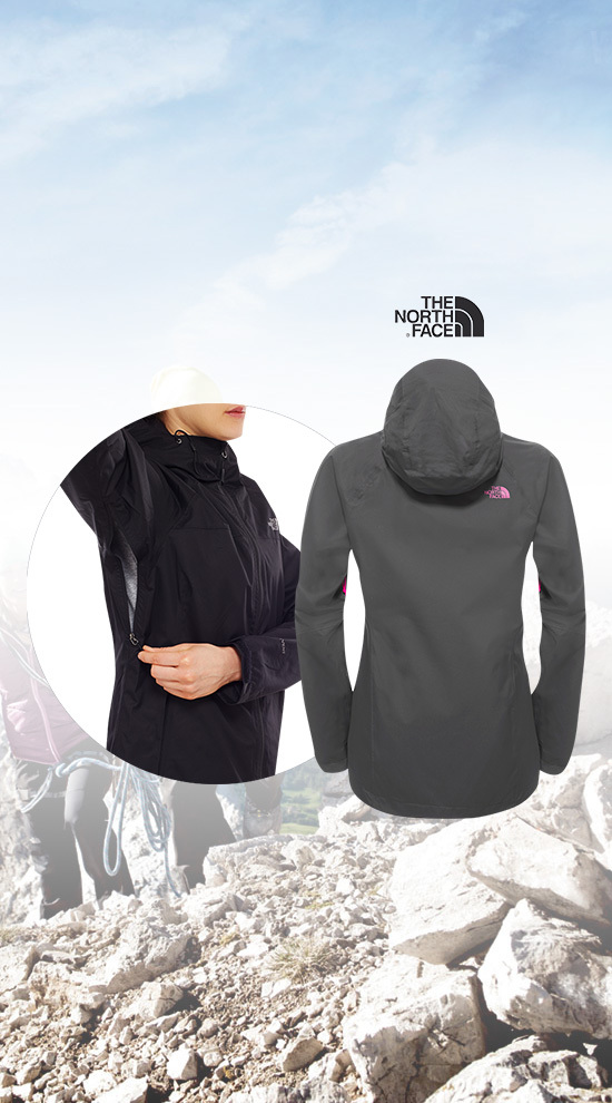 Qsport THE NORTH FACE Sequence jacket