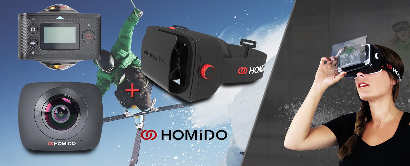 """Résultat de recherche d'images pour """"homido cam 360°"""""""