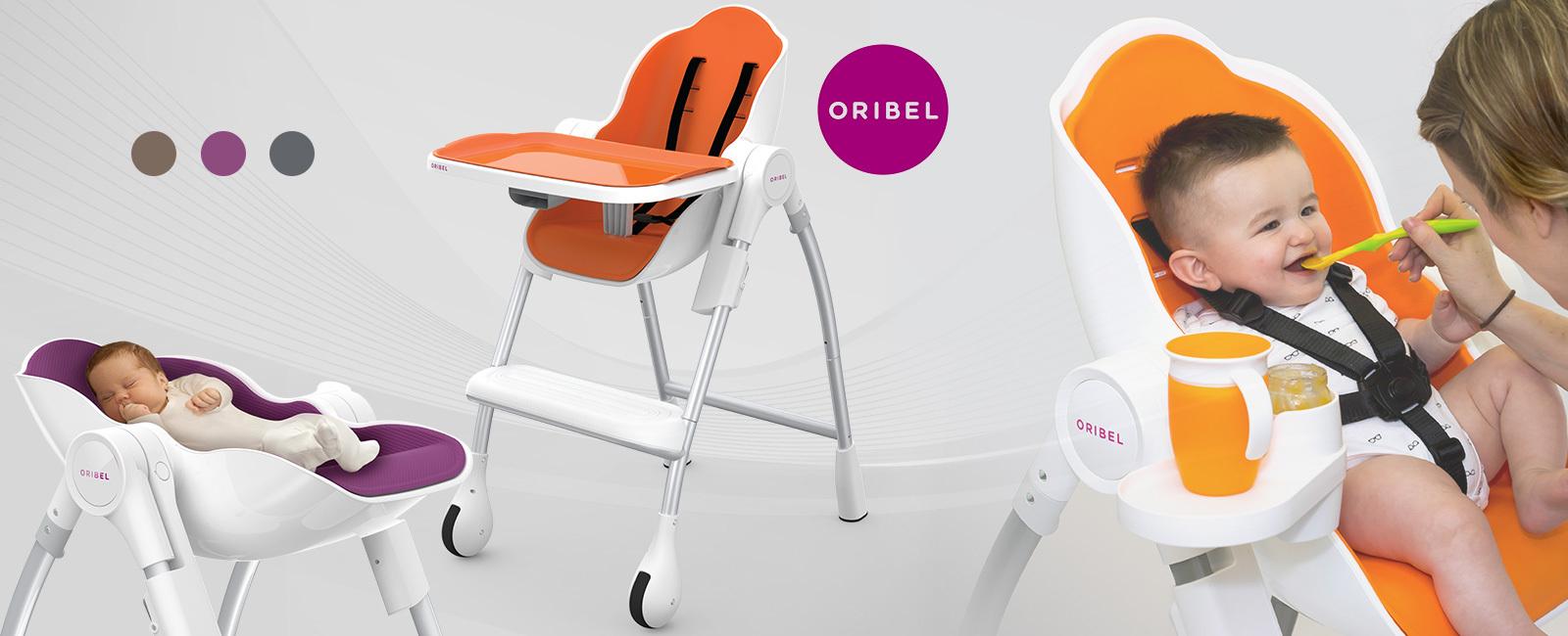 Oribel Cocoon Chaise Haute Évolutive Qids pSMUVz