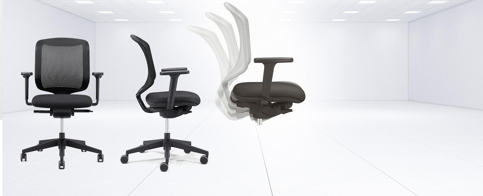 Qoqa Giroflex Arbeitsstuhle Fur Zuhause 434 Chair 2 Go