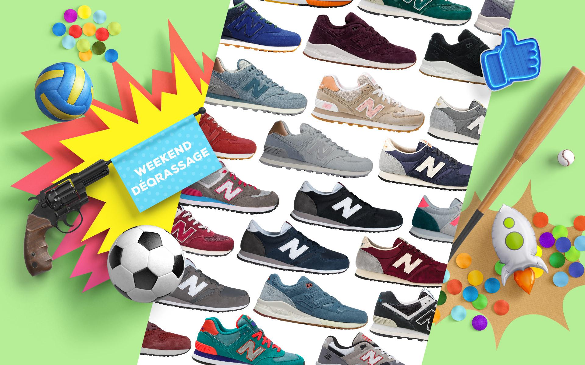 Qsport NEW BALANCE Sneaker 420, 530 & 574