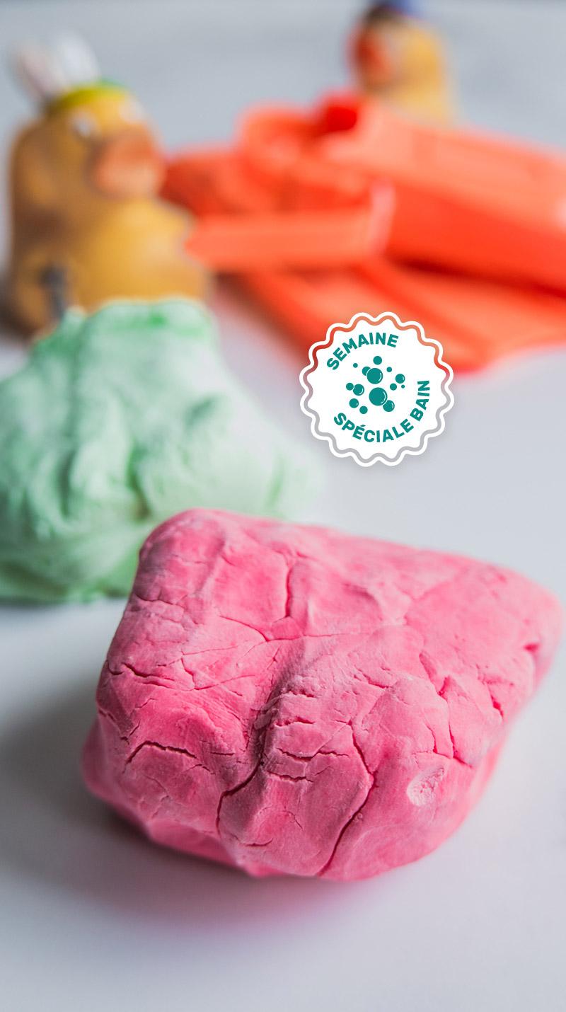 Pate A Modeler Pour Le Bain pâte à modeler 2 ingrédients pour le bain - qblog