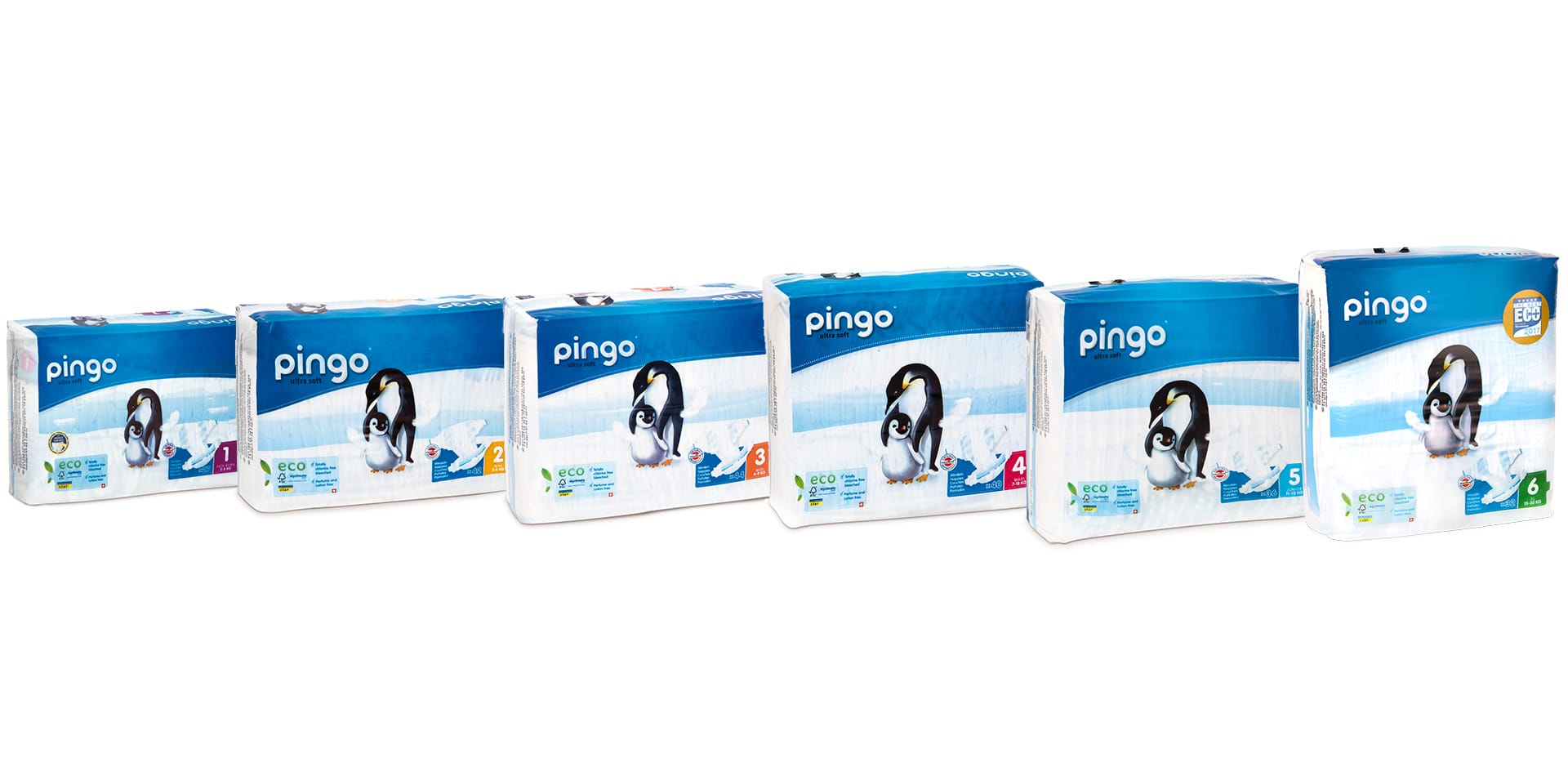 Qids Pingo Couches Jetables Multi Packs