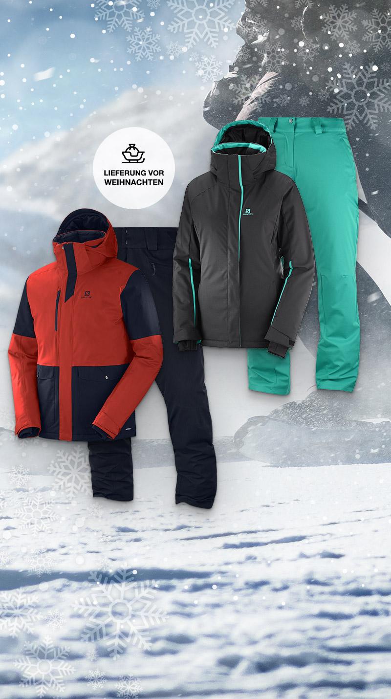 Qsport Salomon Skijacke oder Skihose