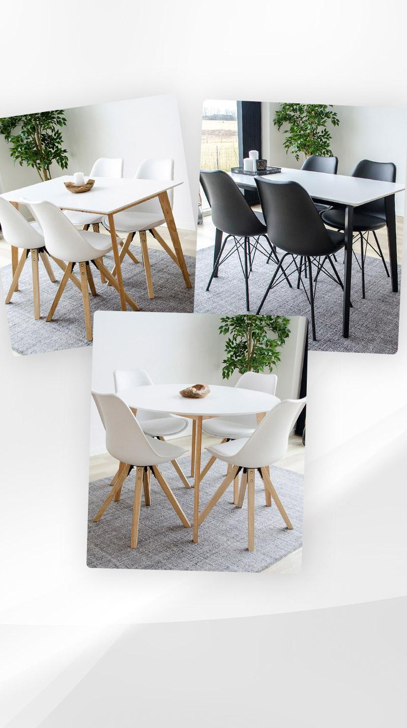 House Qooking Vojens Table à manger Nordic P80wmvOyNn