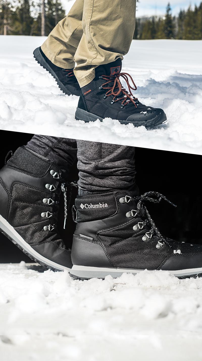 Qsport Columbia Chaussures Fairbanks Omni Heat Wheatleigh