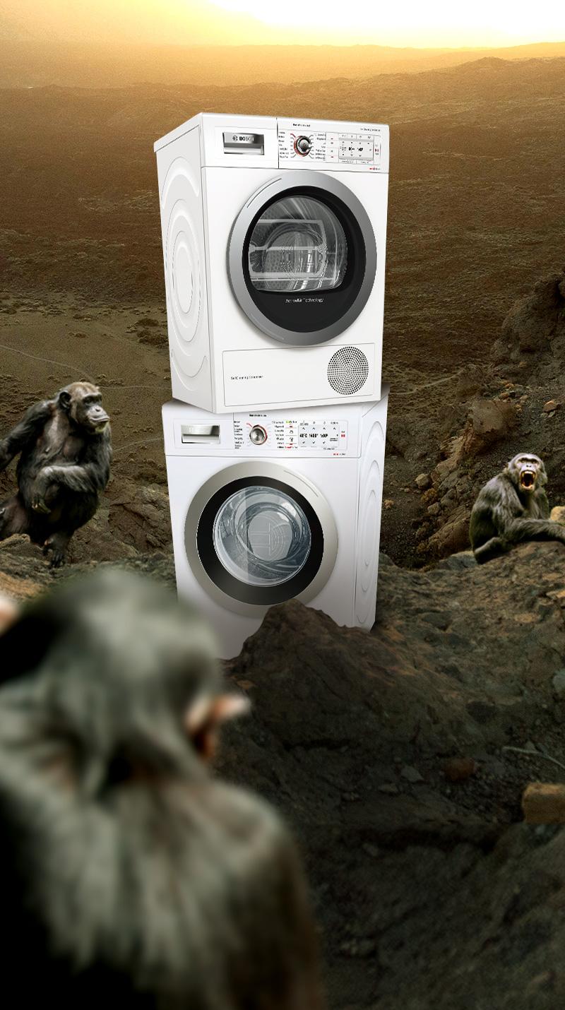 Machine À Laver Et Sèche Linge Intégré qoqa - bosch - lave-linge ou sèche-linge