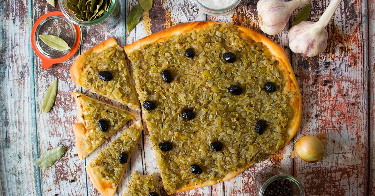 Pissaladière - Südfranzösischer Zwiebelkuchen - Qblog