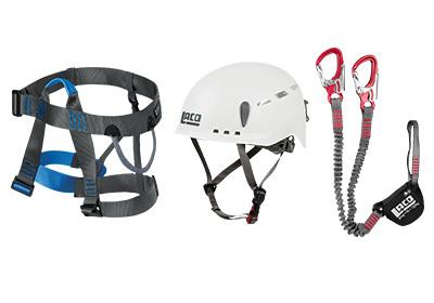 Lacd Klettergurt Start Test : Qsport lacd klettersteig set